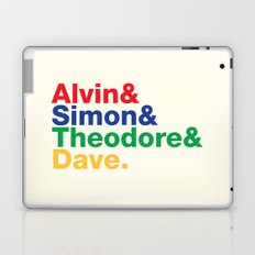 ALVIN&SIMON&THEODORE&DAVE. Laptop & iPad Skin