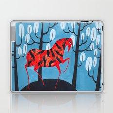 Smug red horse Laptop & iPad Skin