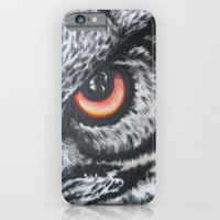 iPhone & iPod Case featuring I'm Watching U! by Annette Jimerson