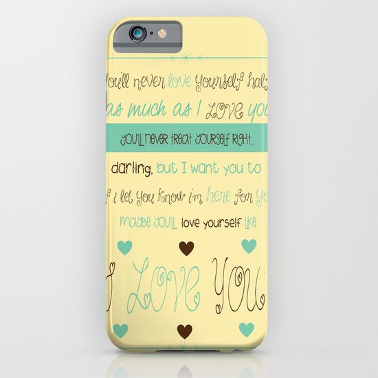 Little Things iPhone & iPod Case