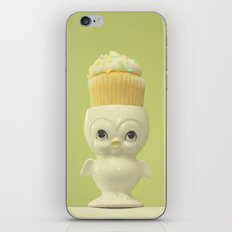 Cupcake Owl iPhone & iPod Skin