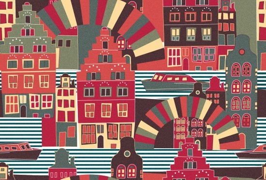 Amsterdam my love Art Print