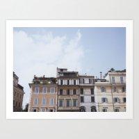 Roman Apartments Art Print