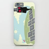iPhone & iPod Case featuring The Optimist by Teo Zirinis