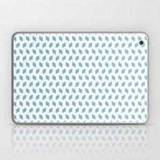 rhombus bomb in dusk blue Laptop & iPad Skin