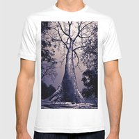 Towering Mens Fitted Tee White SMALL