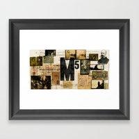 M5 Collection Framed Art Print