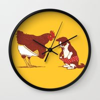 Show Me Yours And I'll S… Wall Clock