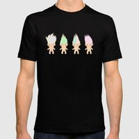 Jewel Creatures  Mens Fitted Tee Black SMALL
