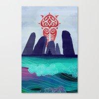 Avatar: Spirits Book v2 Canvas Print