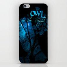 Owl in the Nigh iPhone & iPod Skin