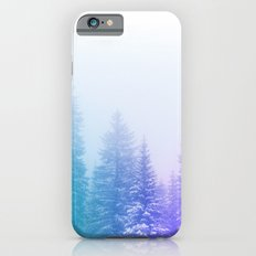 Blue and Purple Pines Slim Case iPhone 6s
