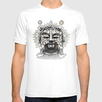 The Bodhi Tree Mens Fitted Tee White SMALL