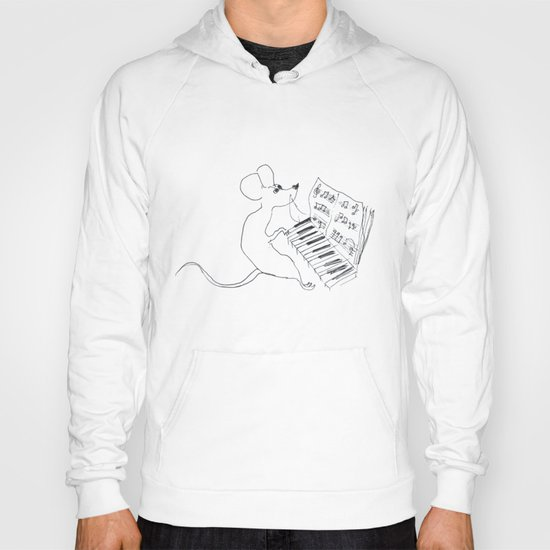 mouse pianist Hoody
