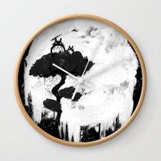 Midnight Spirits Wall Clock