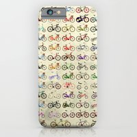 iPhone Cases featuring Bikes by Wyatt Design