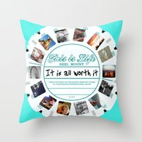 This Is Life - Viewmaste… Throw Pillow