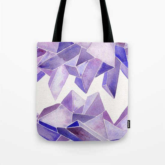 Amethyst Watercolor Tote Bag
