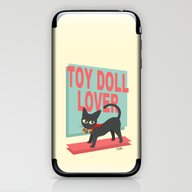 iPhone & iPod Skin featuring Toy Doll Lover by BATKEI