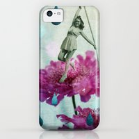 iPhone 5c Cases featuring walk in the garden by Rosa Picnic
