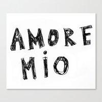 AMORE MIO Canvas Print