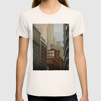 Labyrinth Womens Fitted Tee Natural SMALL