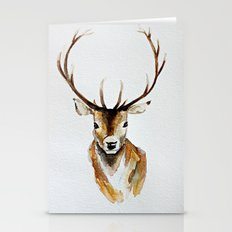 Buck - Watercolor Stationery Cards
