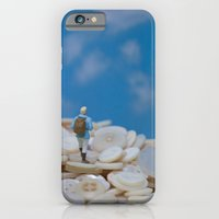 iPhone & iPod Case featuring The Great Button Hike by Tricia McKellar