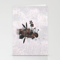 Bee Fighter Stationery Cards