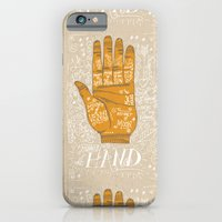 iPhone Cases featuring THE PALM READER by Matthew Taylor Wilson