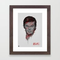 Dexter/Michael C.Hall Framed Art Print