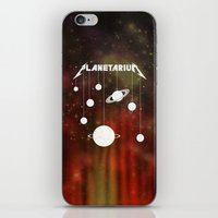 Planetarium (welcome home) iPhone & iPod Skin