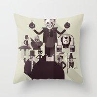 dark man fan art Throw Pillow