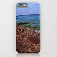 iPhone & iPod Case featuring Beach: Amalfi Coast, Italy by JuliHami