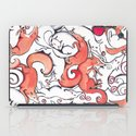Fox Pattern iPad Case