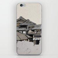 Vintage Gion iPhone & iPod Skin