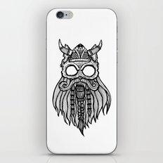 Viking Cat iPhone & iPod Skin