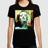 Joan Womens Fitted Tee Black SMALL