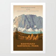 Kootenay National Park Art Print