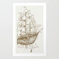 Voyage Home Art Print