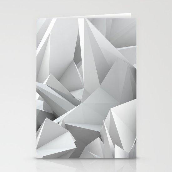 White Noiz Stationery Card