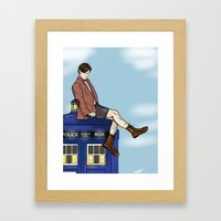 Sexy On Top of Sexy Framed Art Print
