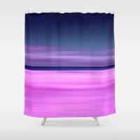 purple beach IX Shower Curtain