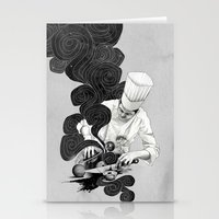 Galactic Chef Stationery Cards