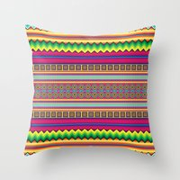 Guatemala Throw Pillow