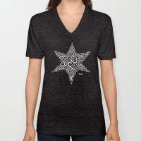 David's Star Unisex V-Neck