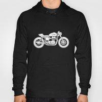 Triumph Bonneville - Cafe Racer series #3 Hoody