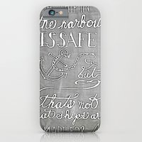 iPhone & iPod Case featuring Chalkboard hand-lettered motivational quote by JMore