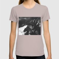 MONSTER Womens Fitted Tee Cinder SMALL