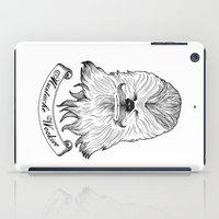 Mustache Wookiee iPad Case